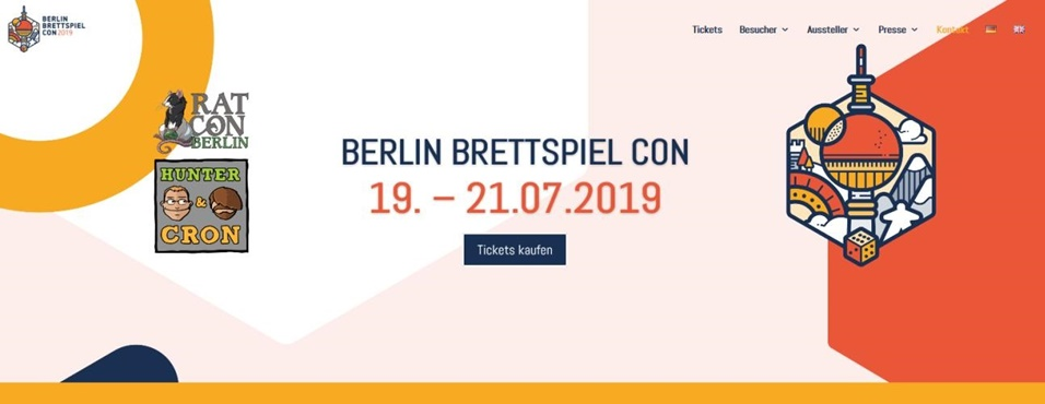 Berlin Brettspiel Con Convention 2019